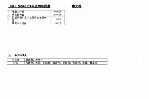 1920中文科周年報告及2021中文科周年計劃-6
