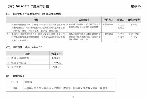 2018-2020學校發展報告及計劃-35