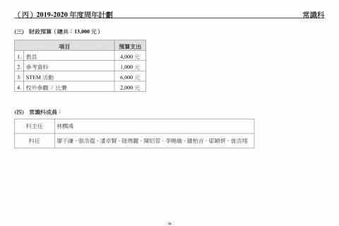 2018-2020學校發展報告及計劃-38