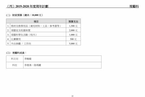 2018-2020學校發展報告及計劃-44